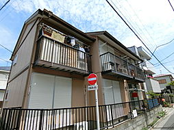 東京都練馬区旭丘1丁目の賃貸アパートの外観