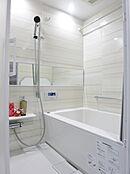 仕様イメージ  浴室乾燥機付きユニットバスです。雨の日でもしっかりお洗濯物を乾かせます