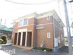 広島県広島市佐伯区五日市町大字石内の賃貸アパートの外観