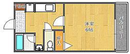 エレフコートYAMATE[2階]の間取り