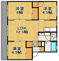 PRISM Eniwa 001[1階]の間取り