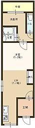 [一戸建] 大阪府堺市北区中長尾町3丁 の賃貸【/】の間取り