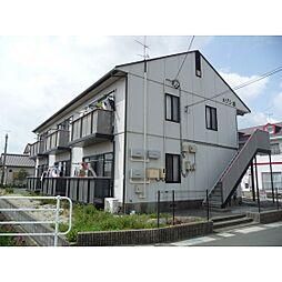 静岡県浜松市西区神ケ谷町の賃貸アパートの外観