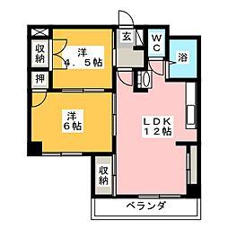 GBII[2階]の間取り