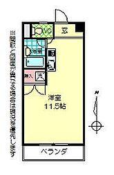 リンピア上野[401号室]の間取り