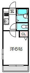 大阪府守口市藤田町2丁目の賃貸マンションの間取り