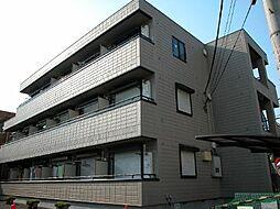 東京都調布市小島町2丁目の賃貸マンションの外観