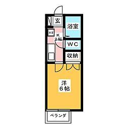 アートグランドK[2階]の間取り