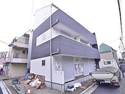 東京都葛飾区高砂5の賃貸アパートの外観