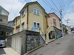 神奈川県横浜市鶴見区下末吉5丁目の賃貸アパートの外観