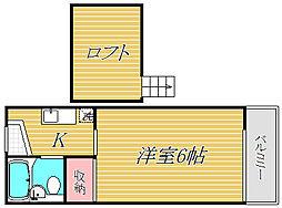 ラ・コリン成増[1階]の間取り
