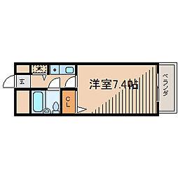 ジョイフル町田[2階]の間取り