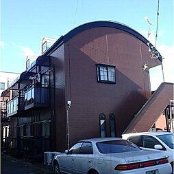 群馬県高崎市福島町の賃貸アパートの外観