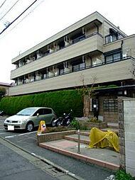 東京都目黒区東山1丁目の賃貸マンションの外観
