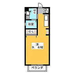 A HOUSE[1階]の間取り