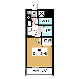 アパートメントハウスアトリウム[9階]の間取り