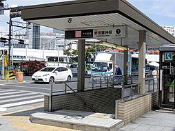 エスリード野田阪神駅前[11階]の外観