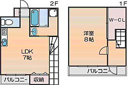 住吉東駅 6.7万円