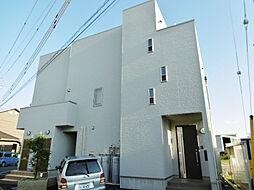 静岡県浜松市浜北区中瀬の賃貸アパートの外観