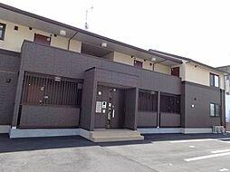 愛媛県松山市余戸南4丁目の賃貸アパートの外観