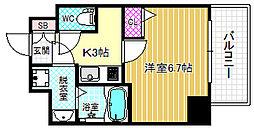 スワンズシティ福島グランデ[8階]の間取り