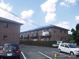 福岡県筑後市大字久富の賃貸マンションの外観