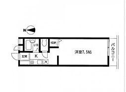 セティオ 2番館[3階]の間取り