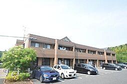 福岡県遠賀郡遠賀町大字虫生津の賃貸アパートの外観