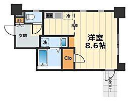 MODELIST YAMATO[6階]の間取り