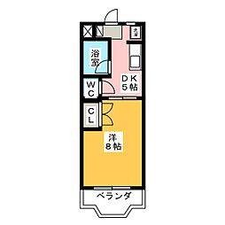 ファンタハウス[2階]の間取り