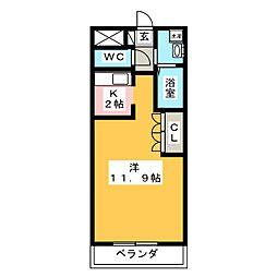 ズィーガーハウス[2階]の間取り