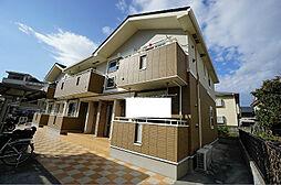 福岡県春日市上白水6丁目の賃貸アパートの外観