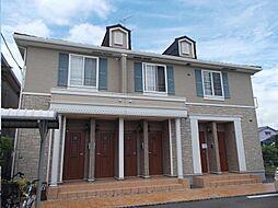 広島県福山市川口町1丁目の賃貸アパートの外観