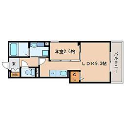 JR東海道本線 静岡駅 バス13分 南安倍町下車 徒歩3分の賃貸アパート 2階1LDKの間取り