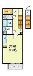 [タウンハウス] 大阪府大阪市東住吉区駒川4丁目 の賃貸【/】の間取り