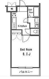 ラグジュアリーアパートメント砧[1階]の間取り