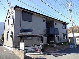 埼玉県新座市片山1丁目の賃貸アパートの外観