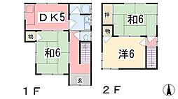 [一戸建] 兵庫県姫路市西庄甲 の賃貸【兵庫県 / 姫路市】の間取り