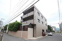 広島県広島市東区牛田本町5丁目の賃貸マンションの外観