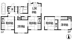 [一戸建] 兵庫県宝塚市逆瀬台6丁目 の賃貸【/】の外観