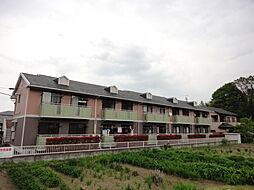 群馬県安中市岩井の賃貸アパートの外観