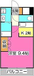 埼玉県入間市東藤沢3丁目の賃貸マンションの間取り