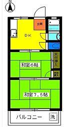 第2池田マンション[3階]の間取り