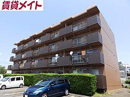 三重県亀山市東御幸町の賃貸マンションの外観