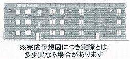 セカンドコート A棟[2階]の外観