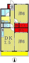 弥藤壱番館[3階]の間取り