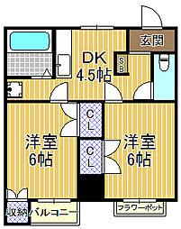 ReFINE西九条[4階]の間取り