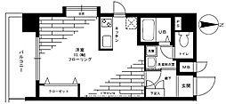 ステージグランデ新高円寺[11階]の間取り
