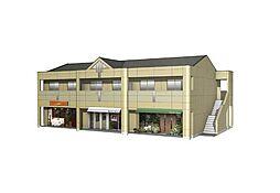東保木間新築店舗アパート[2階]の外観