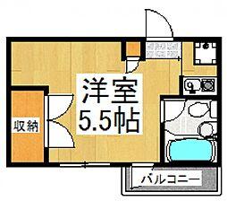 レヂオンス久米川PART7[4階]の間取り